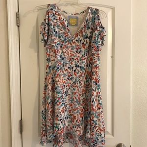 Anthropologie/Maeve Watercolor Dress
